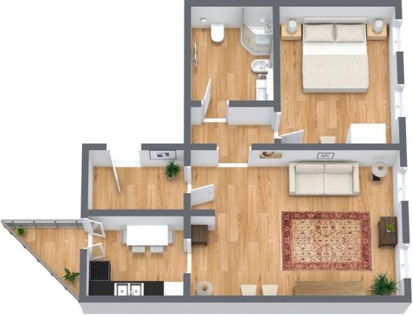 Planimetria Appartamento N.353