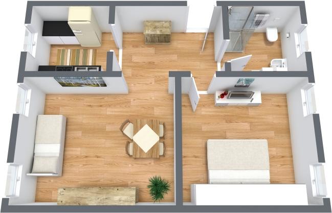 Planimetria Appartamento N.354