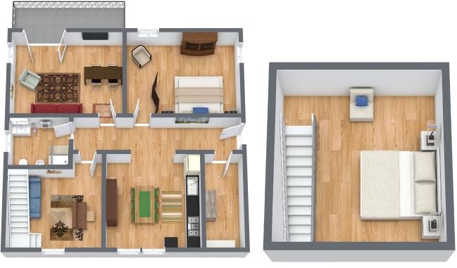 Planimetria Appartamento N.358