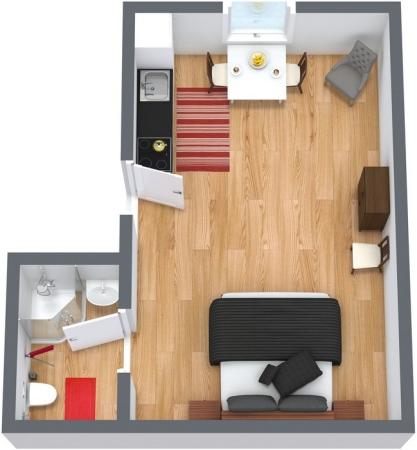 Planimetria Appartamento N.36