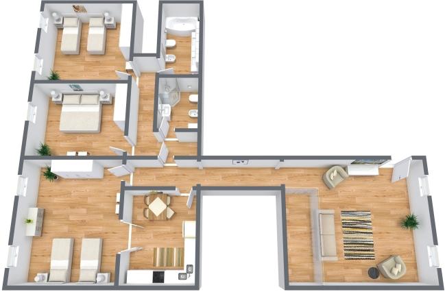 Planimetria Appartamento N.363