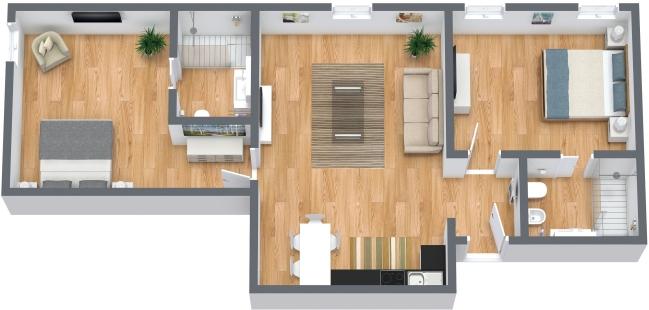 Planimetria Appartamento N.367