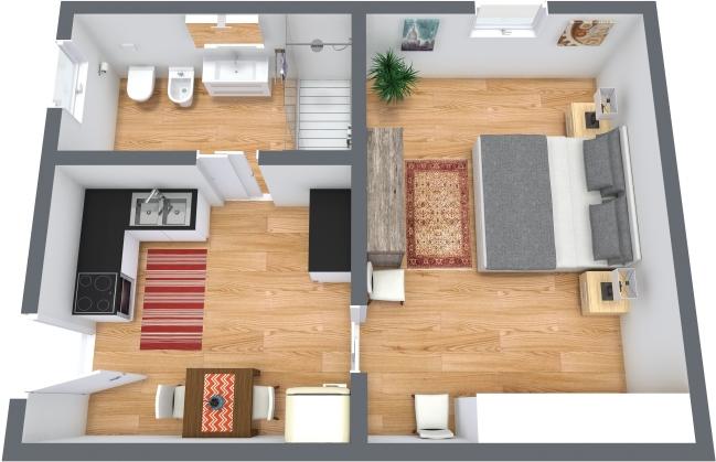 Planimetria Appartamento N.369