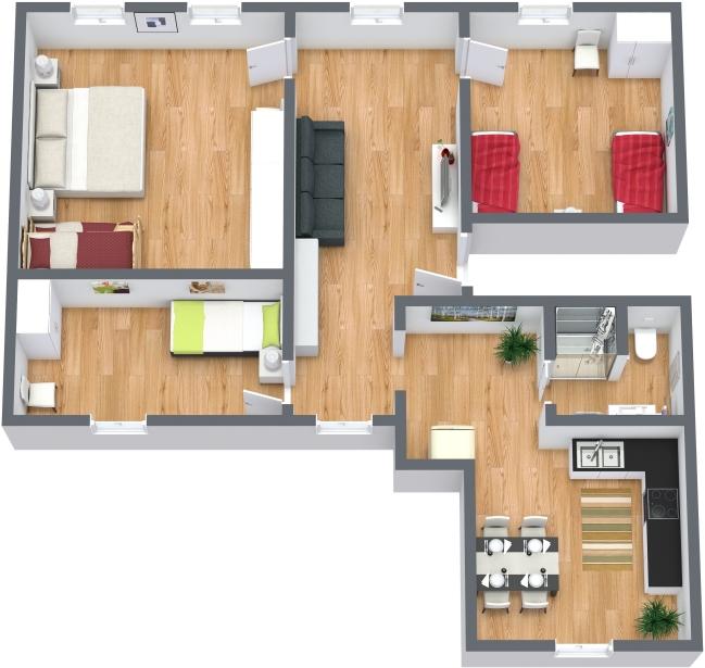 Planimetria Appartamento N.378