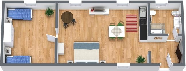 Planimetria Appartamento N.386