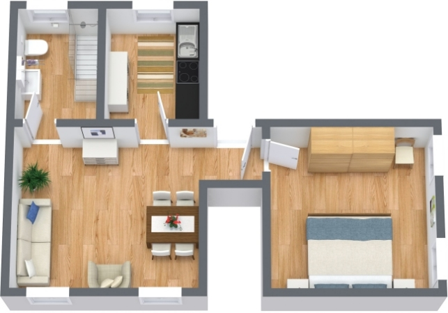 Planimetria Appartamento N.396