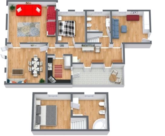 Planimetria Appartamento N.409