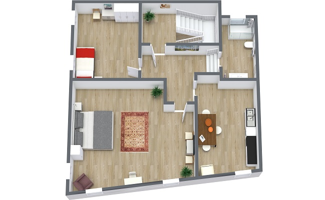 Planimetria Appartamento N.410