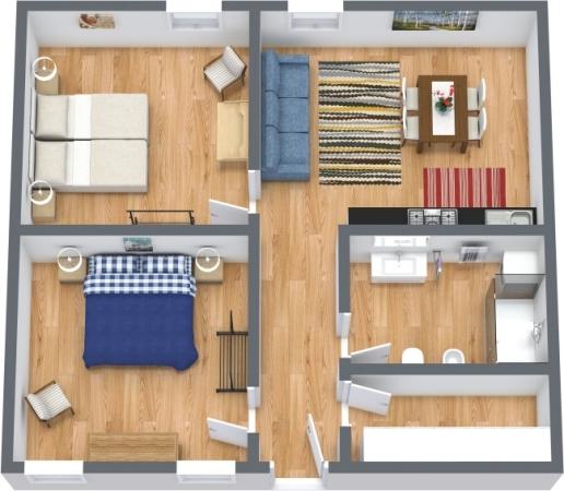 Planimetria Appartamento N.426
