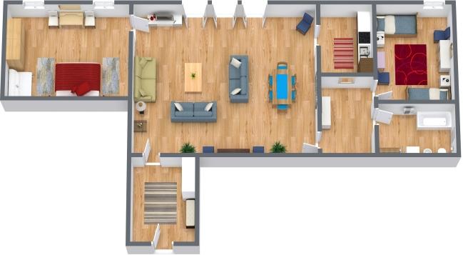 Planimetria Appartamento N.43