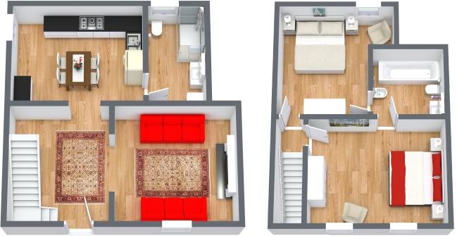 Planimetria Appartamento N.430