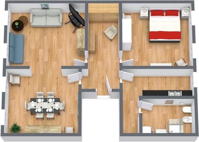 Planimetria Appartamento N.432