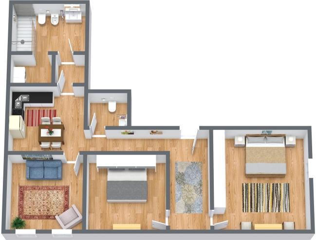 Planimetria Appartamento N.434