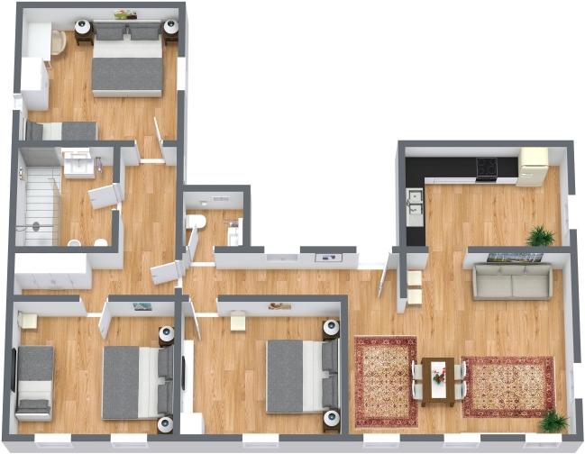 Planimetria Appartamento N.435