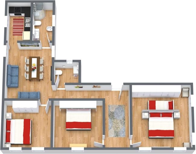 Planimetria Appartamento N.436