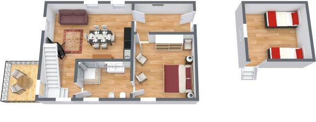 Planimetria Appartamento N.437