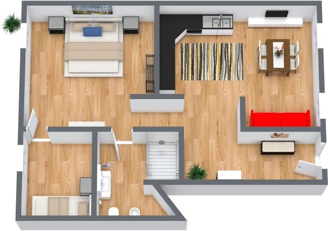 Planimetria Appartamento N.442