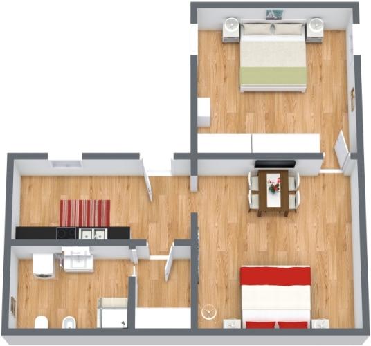 Planimetria Appartamento N.443