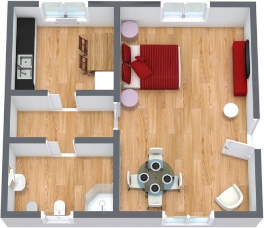Planimetria Appartamento N.48