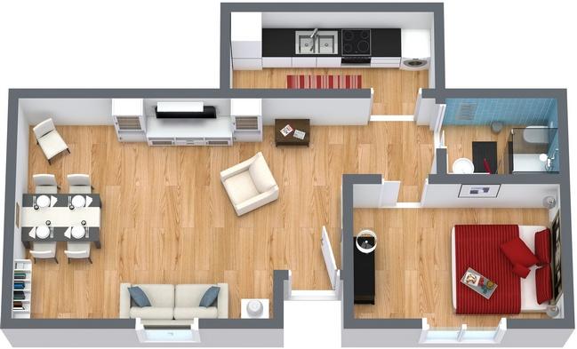 Planimetria Appartamento N.50