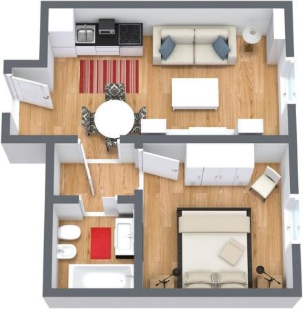Planimetria Appartamento N.61
