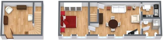 Planimetria Appartamento N.65