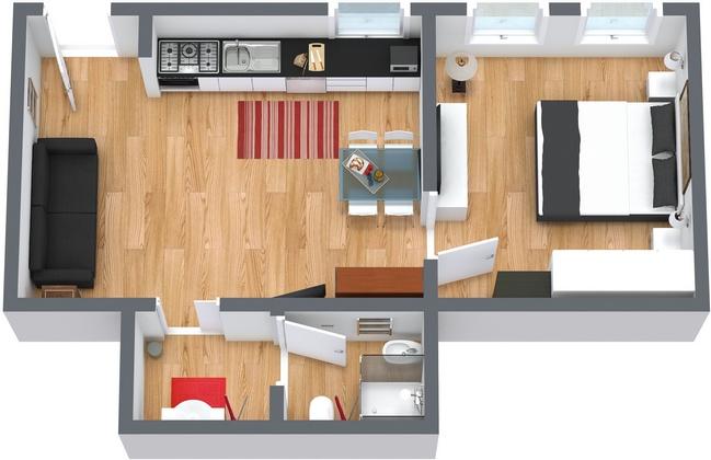 Planimetria Appartamento N.66