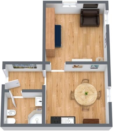 Planimetria Appartamento N.69