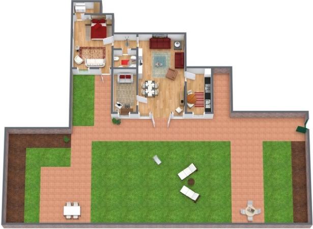 Planimetria Appartamento N.74