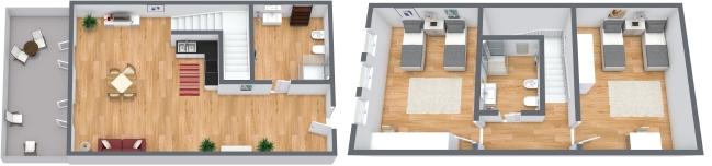Planimetria Appartamento N.93