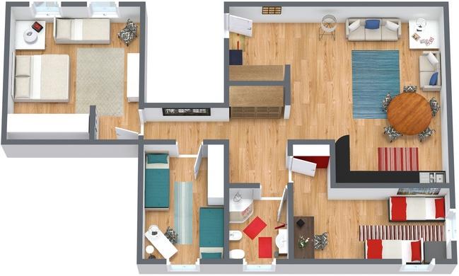 Planimetria Appartamento N.94