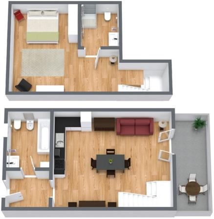Planimetria Appartamento N.96
