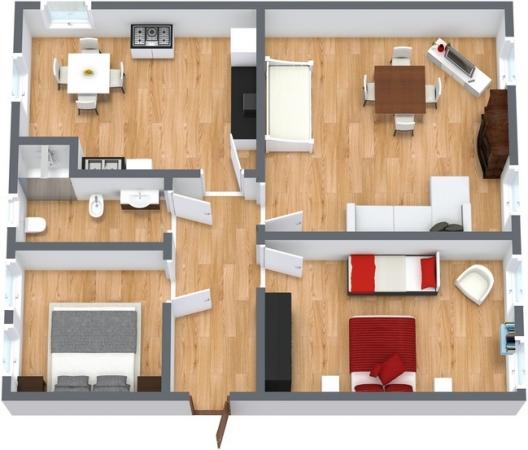 Planimetria Appartamento N.97